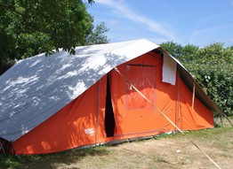 7 = 6 : 1 night offered on camping pitches